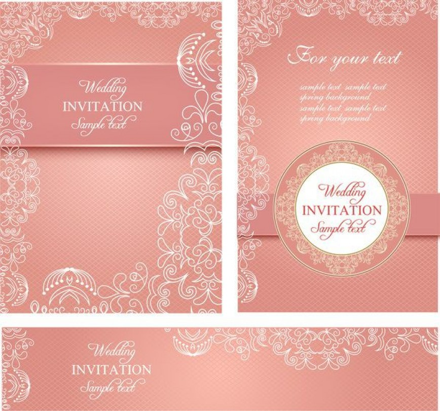 010 Fearsome Free Download Invitation Card Design Sample  Birthday Party Blank Wedding Template Software868