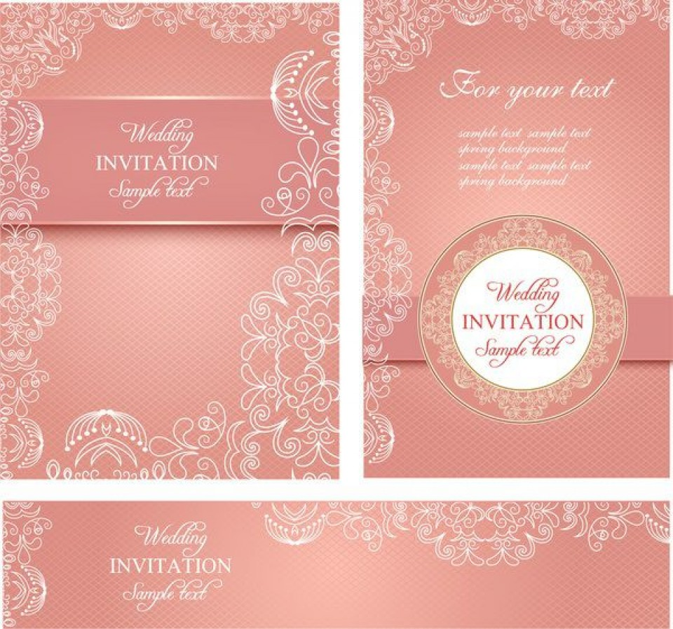 010 Fearsome Free Download Invitation Card Design Sample  Birthday Party Blank Wedding Template Software960