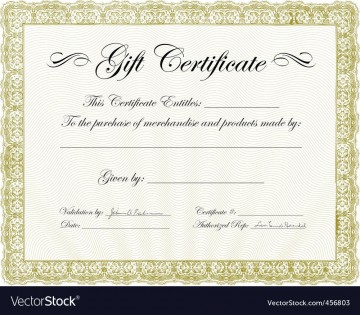 010 Fearsome Template For Gift Certificate Photo  Microsoft Word Massage Christma Free Download360