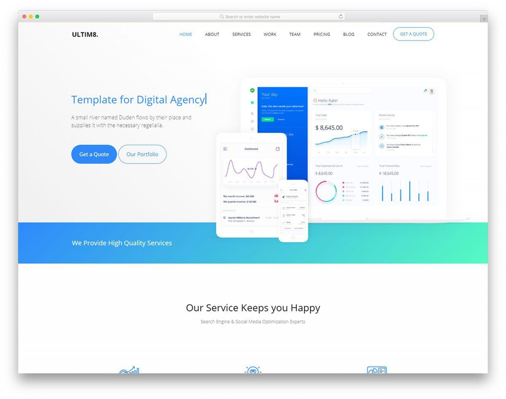 010 Fearsome Web Template Html Cs Free Download High Resolution  Responsive Website With Javascript In Jquery Ecommerce1920