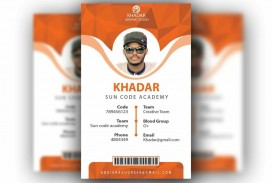 010 Formidable Id Badge Template Photoshop Concept  Employee