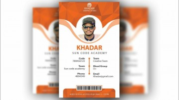 010 Formidable Id Badge Template Photoshop Concept  Employee360