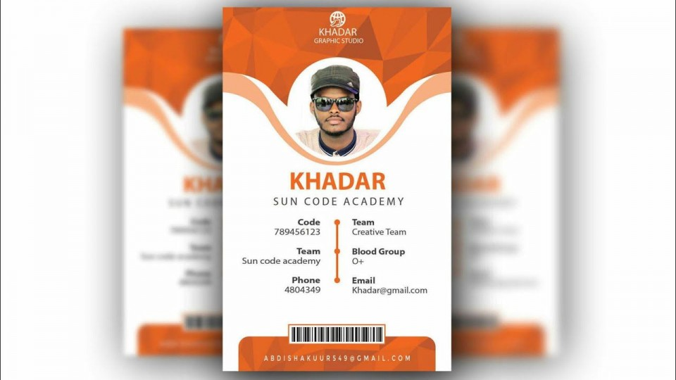 010 Formidable Id Badge Template Photoshop Concept  Employee960
