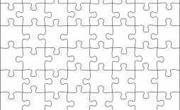 010 Formidable Jig Saw Puzzle Template Image  Printable Blank Jigsaw Vector Free Png