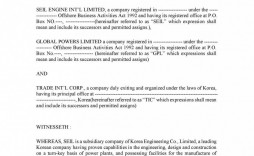 010 Formidable Joint Venture Agreement Template Free South Africa High Resolution  Download