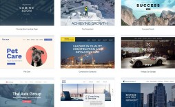 010 Formidable Web Page Template Html Free Download Idea  One Website Cs Single