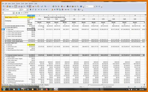 010 Formidable Weekly Cash Flow Statement Template Excel Picture  UkFull