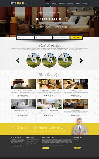 010 Frightening Hotel Website Template Html Free Download High Resolution  With Cs Responsive Jquery And RestaurantFull