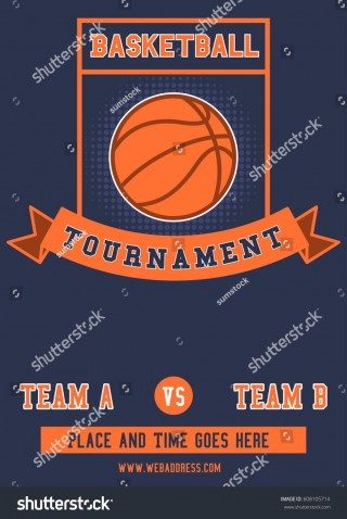 010 Imposing Basketball Tournament Flyer Template High Definition  3 On Free320