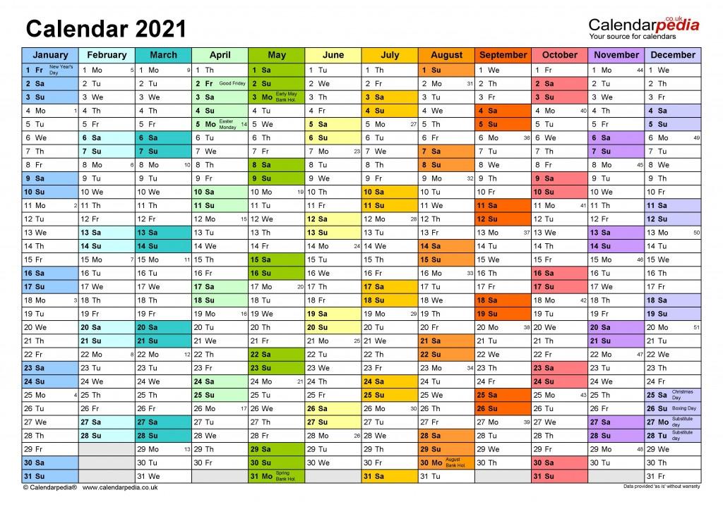 010 Imposing Excel Calendar 2021 Template High Def  Yearly MicrosoftLarge