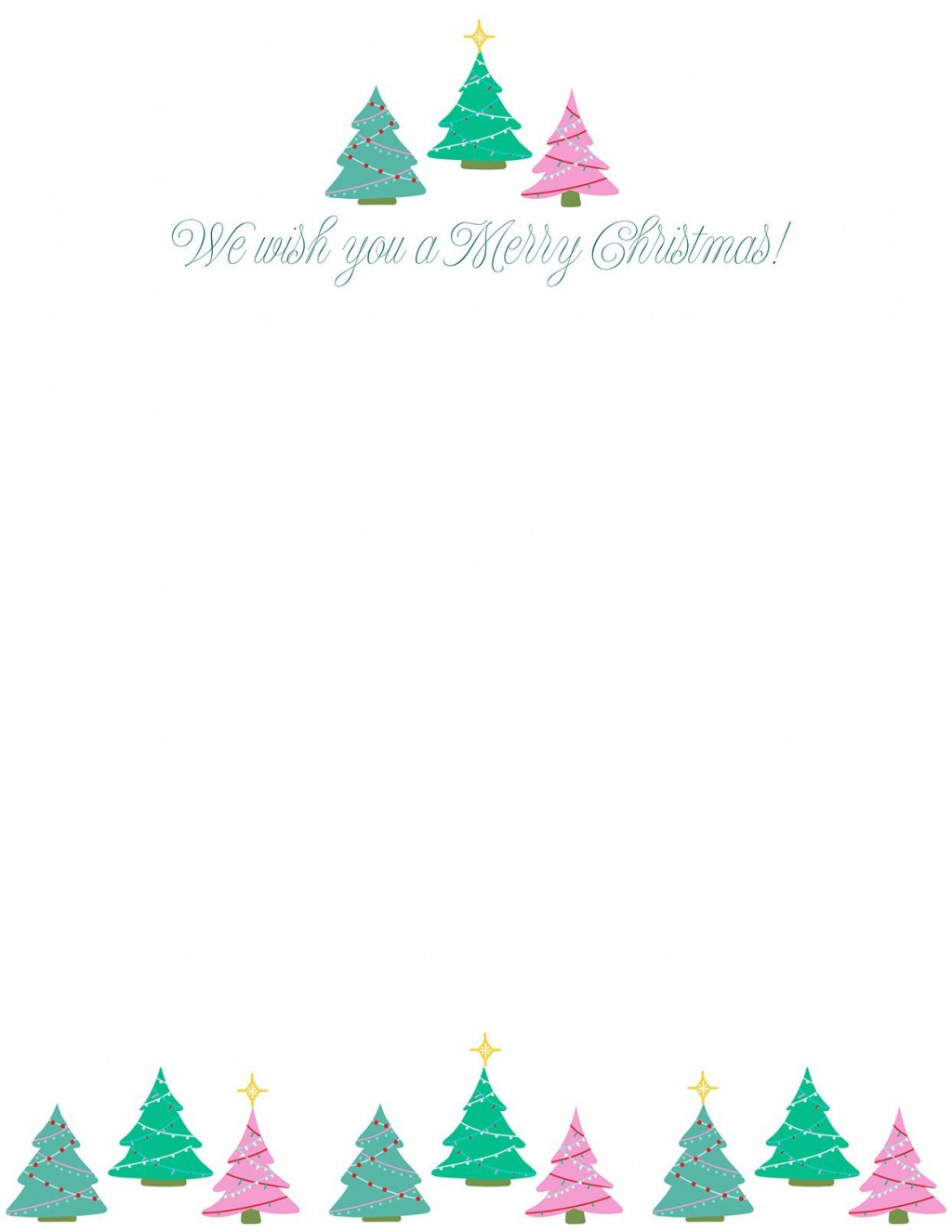 010 Imposing Free Christma Letter Template For Microsoft Word Highest Quality  Downloadable NewsletterLarge