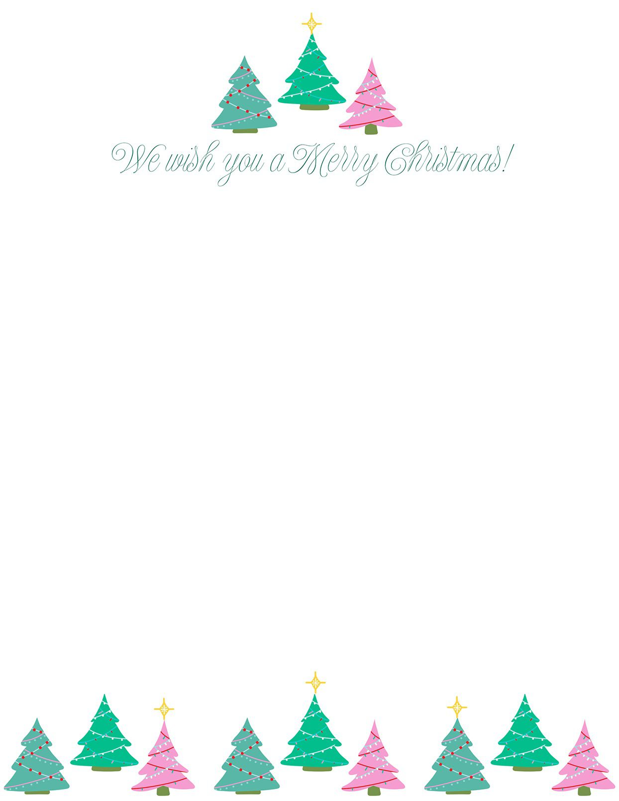 010 Imposing Free Christma Letter Template For Microsoft Word Highest Quality  Downloadable NewsletterFull