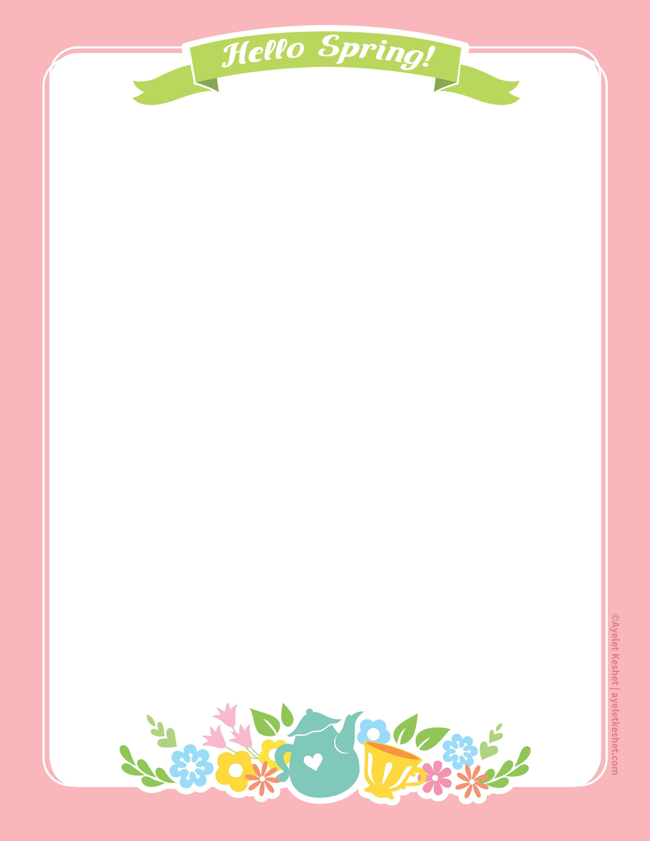 010 Imposing Free Printable Stationery Paper Template Example  TemplatesFull