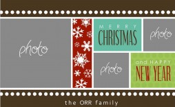 010 Imposing Holiday Card Template Free Image  Christma Word Recipe Editable Microsoft