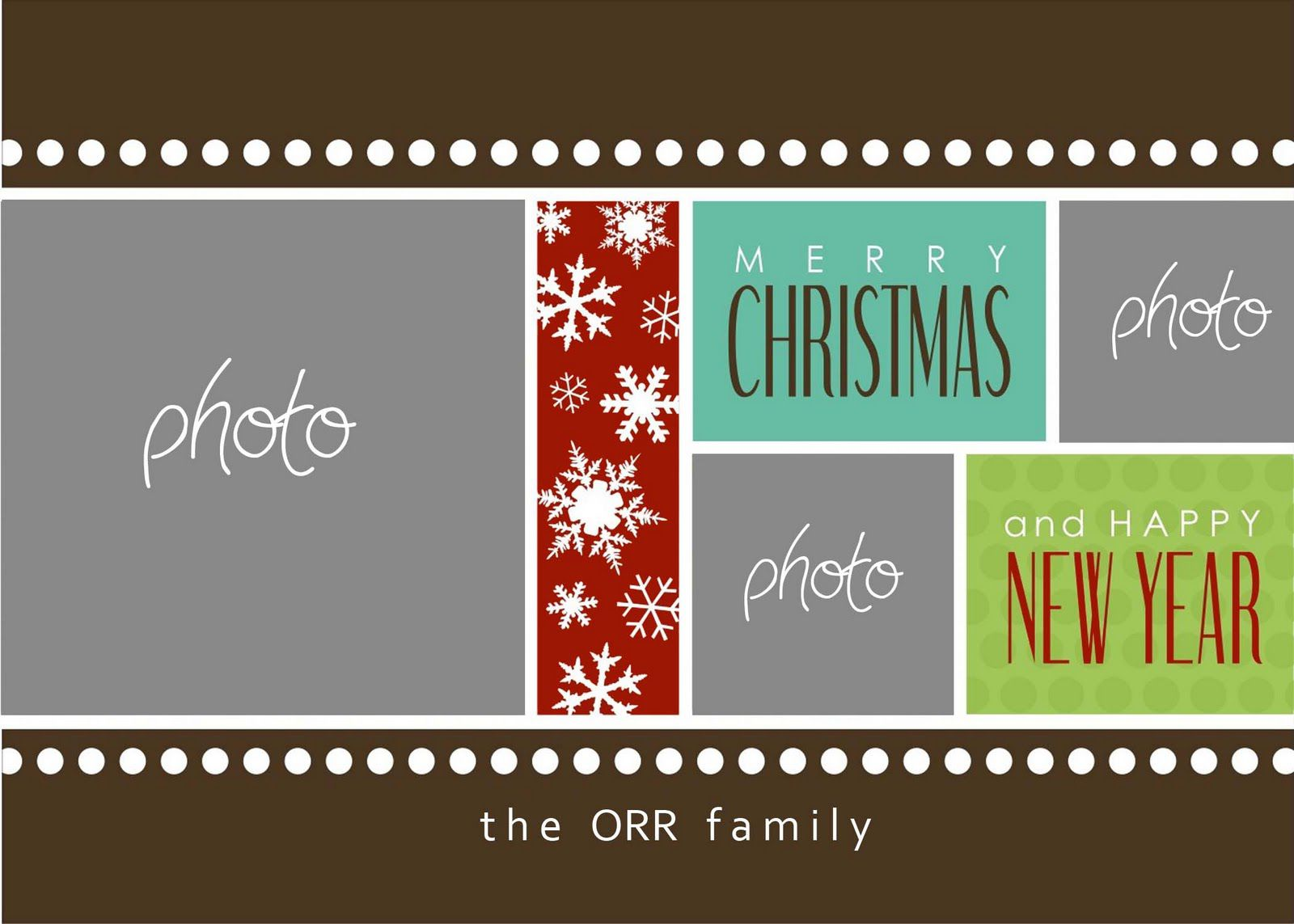 010 Imposing Holiday Card Template Free Image  Christma Word Recipe Editable MicrosoftFull