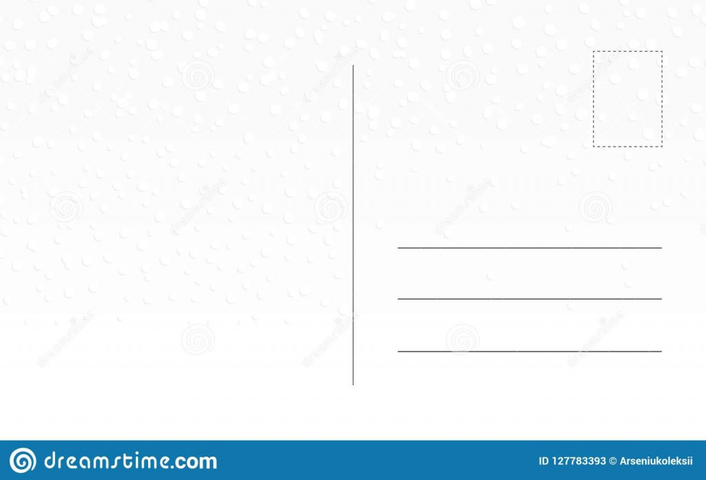 010 Imposing Postcard Template Front And Back Concept  Free WordLarge