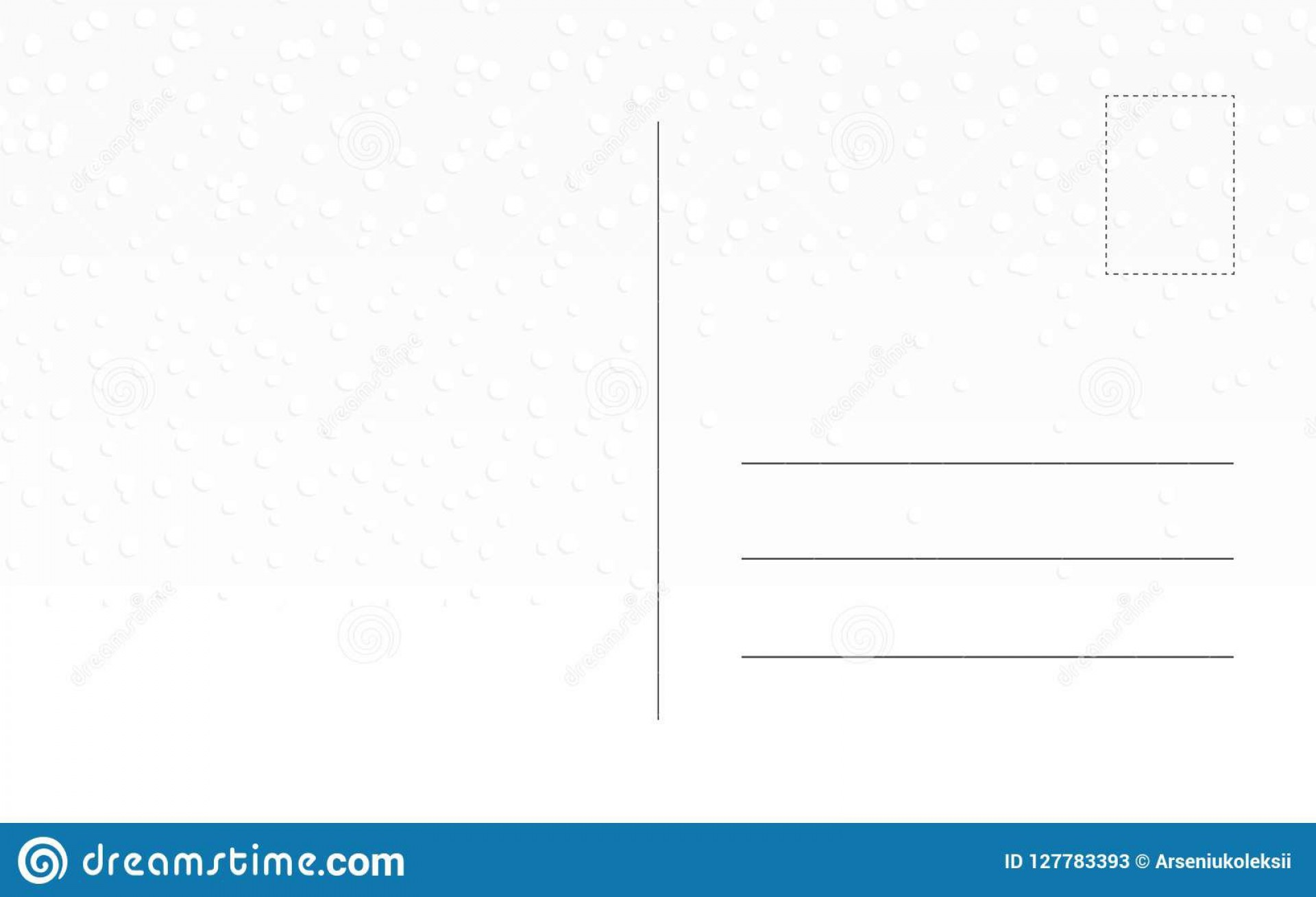 010 Imposing Postcard Template Front And Back Concept  Free Word1920