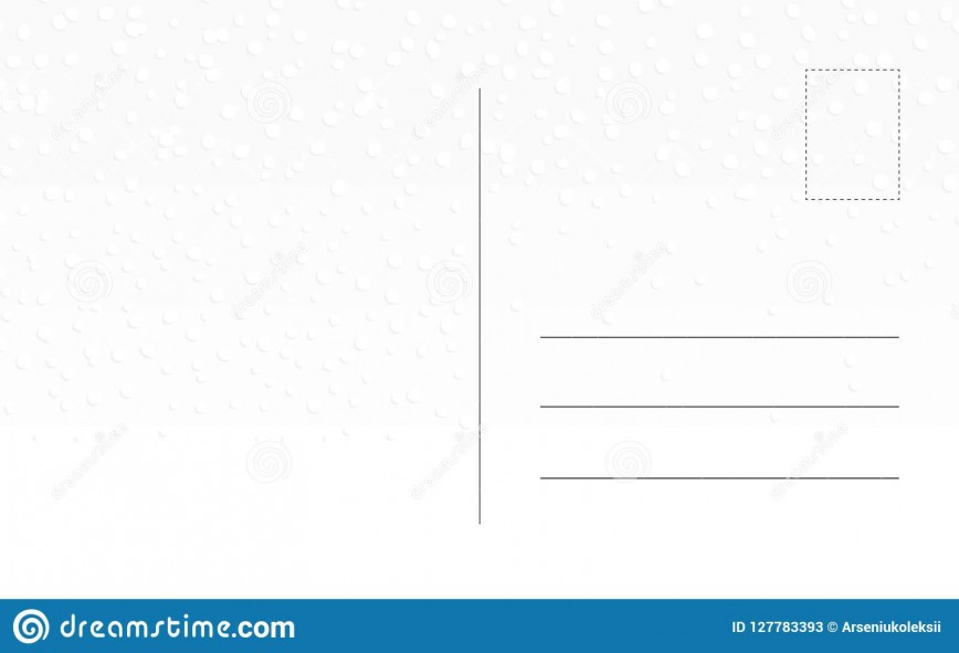 010 Imposing Postcard Template Front And Back Concept  Word Free