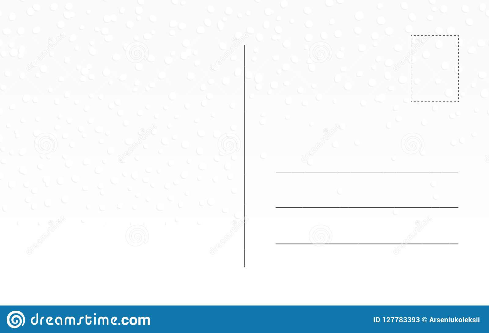 010 Imposing Postcard Template Front And Back Concept  Free WordFull