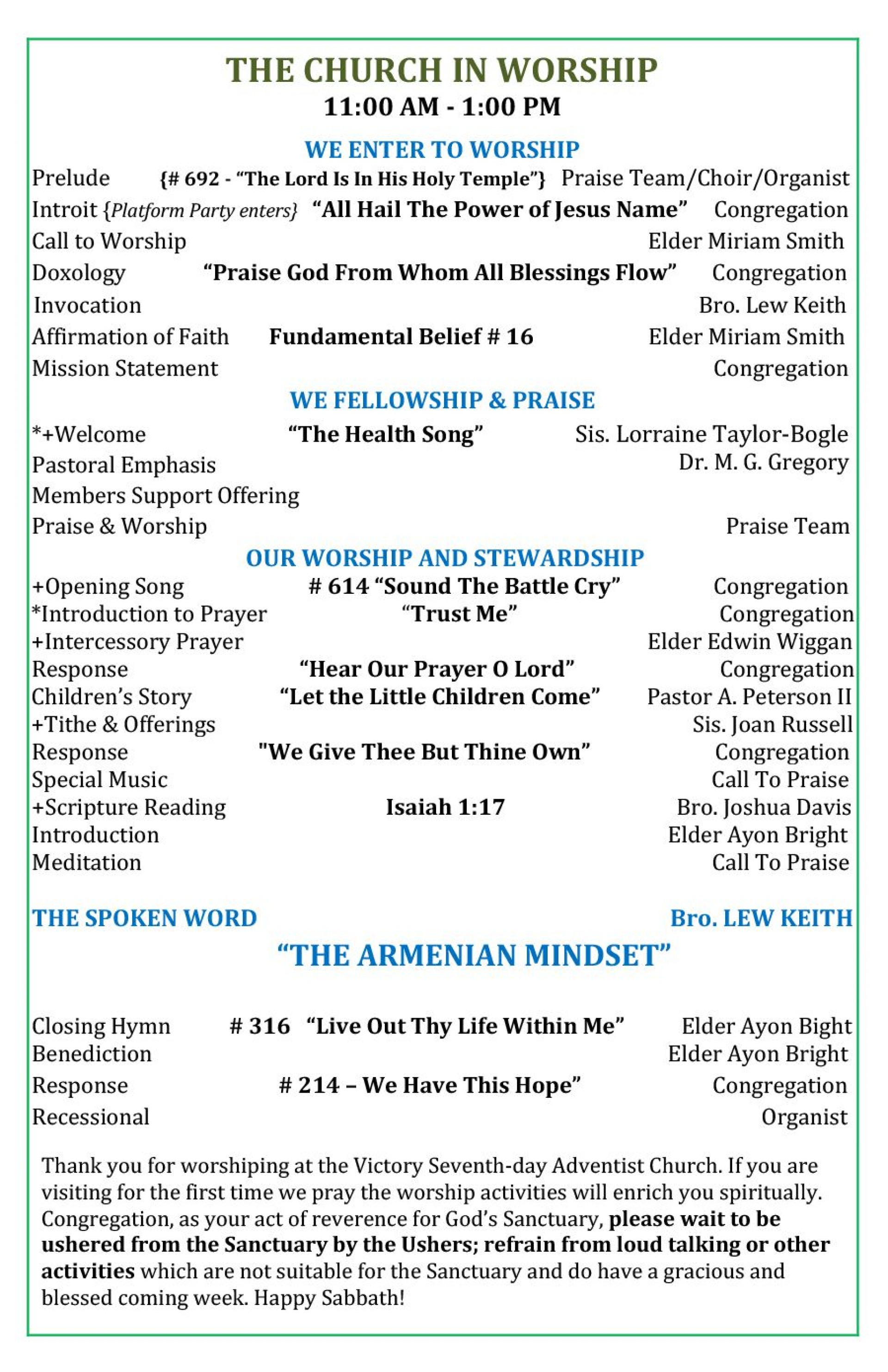 010 Impressive Church Bulletin Template Word High Definition  Program Free Wedding1920