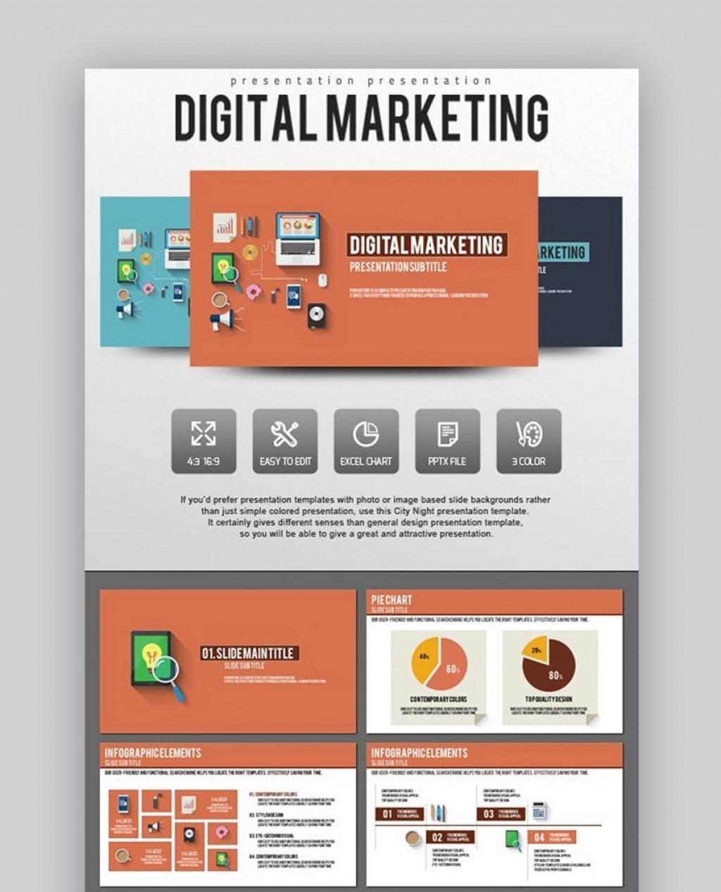 010 Impressive Digital Marketing Plan Sample Ppt Idea Large