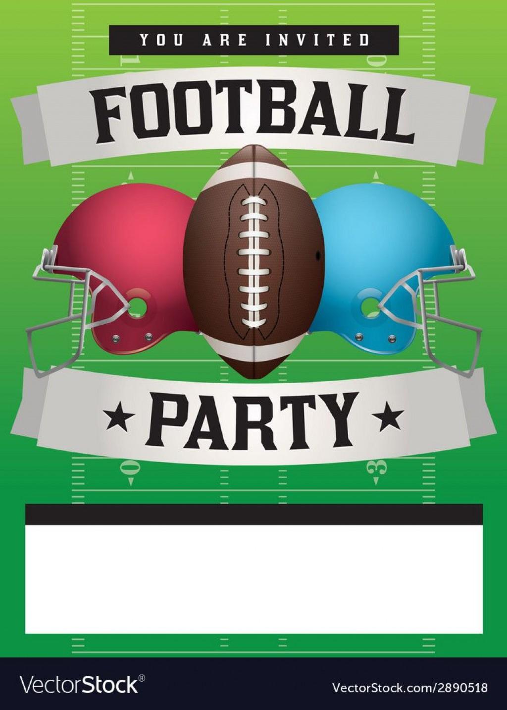 010 Impressive Football Flyer Template Free Design  Download Flag PartyLarge