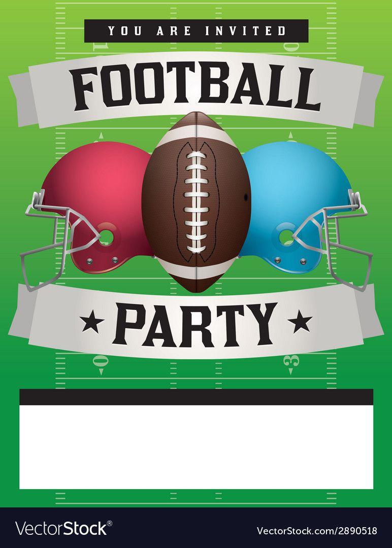 010 Impressive Football Flyer Template Free Design  Download Flag PartyFull