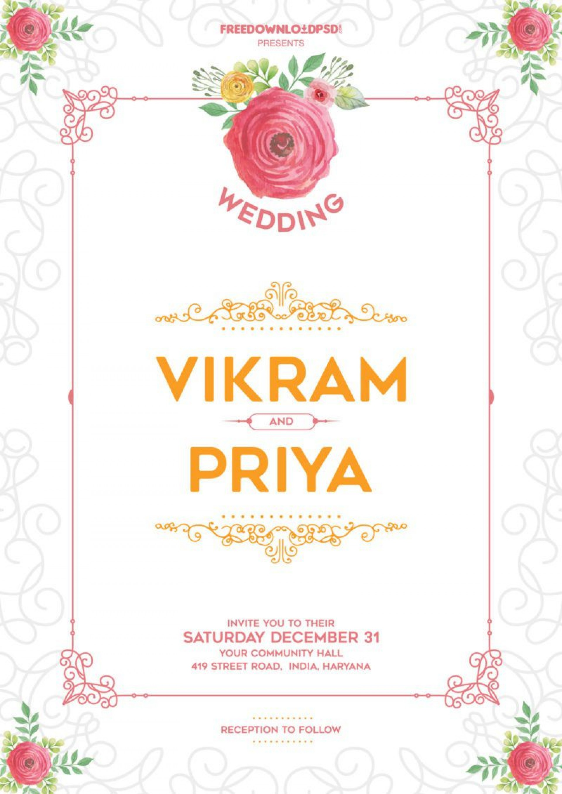 010 Impressive Free Download Invitation Card Design Software High Definition  Wedding For Pc Indian1920