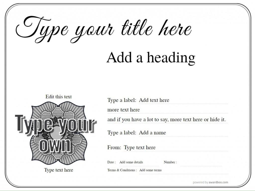 010 Impressive Free Printable Certificate Template Uk Image Large