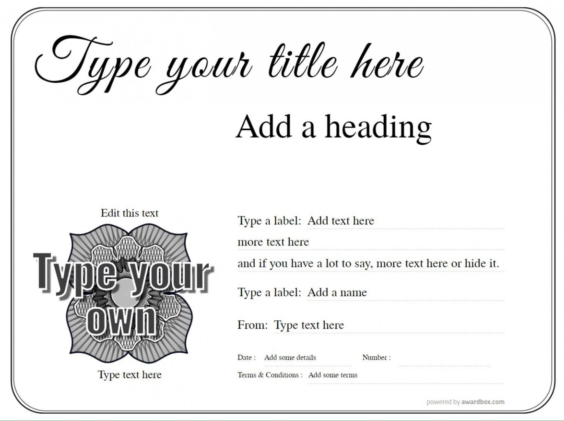 010 Impressive Free Printable Certificate Template Uk Image 1920