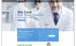 010 Impressive Free Website Template Download Html And Cs Jquery For Hospital Example