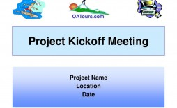 010 Impressive Project Kick Off Template Ppt Highest Quality  Meeting Management Kickoff