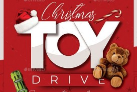 010 Impressive Toy Drive Flyer Template Free Highest Quality  Download Christma