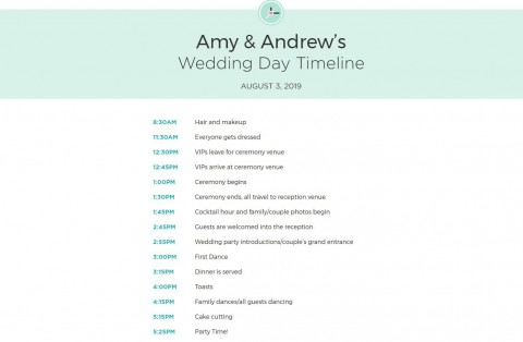 010 Impressive Wedding Timeline For Guest Template Free Photo  Download480