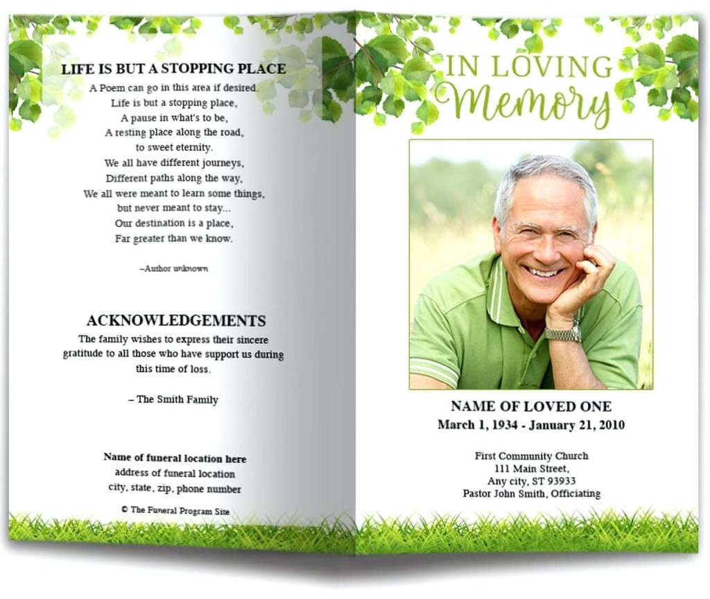 010 Incredible Free Funeral Program Template High Definition  Word Catholic Editable PdfLarge