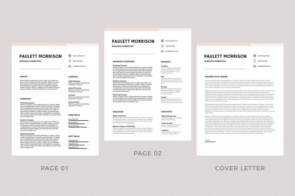 010 Incredible Free Printable Resume Template 2019 Design Large
