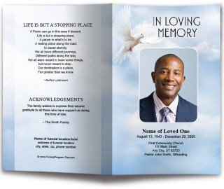 010 Incredible Funeral Program Template Free High Def  Printable Design320