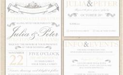 010 Incredible Microsoft Word Wedding Invitation Template Free Download Sample  M Editable