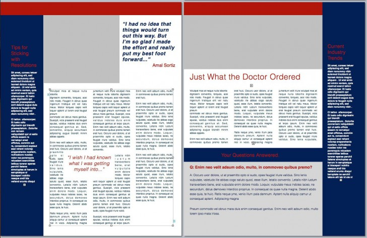 010 Incredible Publisher Newsletter Template Free Inspiration  Microsoft Office Download728