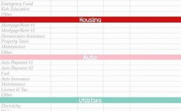 010 Incredible Simple Monthly Budget Template Free Printable Sample