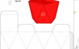 010 Incredible Square Box Template Free Printable Idea