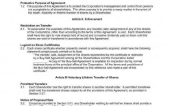 010 Magnificent Buy Sell Agreement Llc Template Free Concept