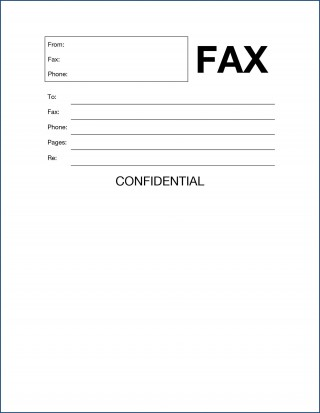 010 Magnificent General Fax Cover Letter Template Photo  Sheet Word Confidential Example320