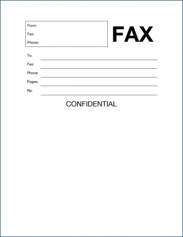010 Magnificent General Fax Cover Letter Template Photo  Sheet Word Confidential Example360