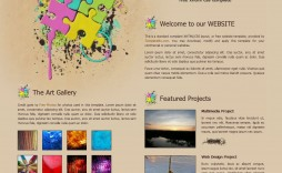 010 Magnificent Painting Website Html Template Free Download Highest Clarity