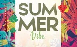 010 Magnificent Summer Party Flyer Template Free Download Example
