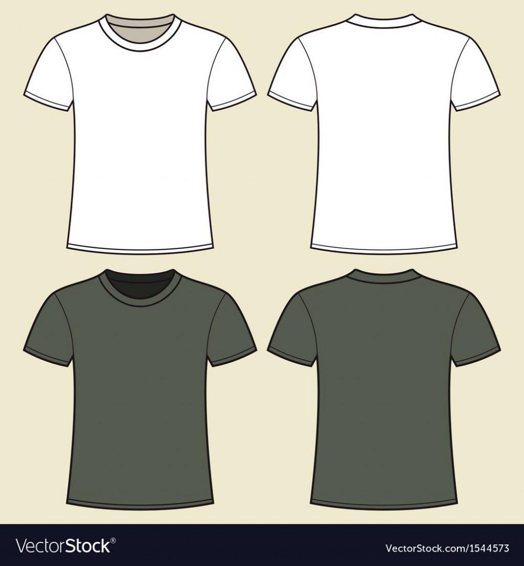 010 Magnificent T Shirt Template Design Concept  Psd Free Download EditableLarge