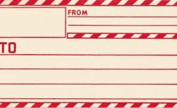 010 Marvelou Envelope Label Template Free High Def  Download