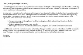 010 Marvelou General Manager Cover Letter Template Highest Clarity  Hotel