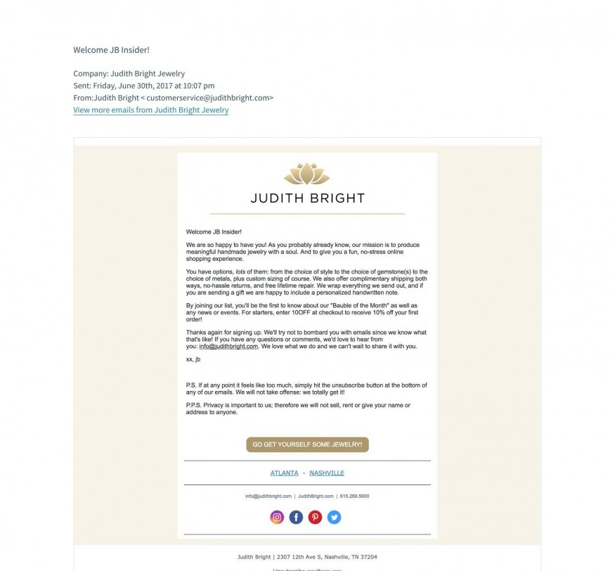 010 Marvelou Join Our Mailing List Template High Definition  Email868